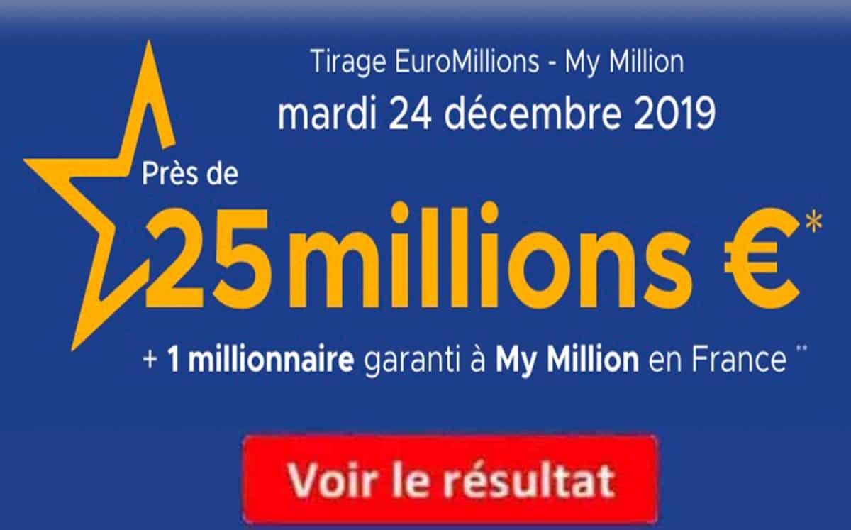 Résultat euromillions fdj ⇒ tous les résultats euromillion dès 21h30