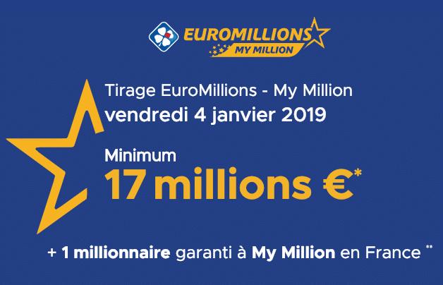 Résultat euromillions : tirage du 10 septembre 2019