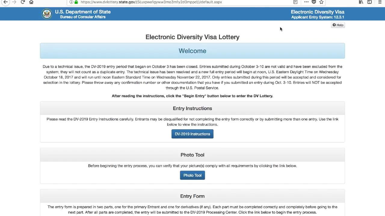 Ответы на частые вопросы о лотерее dv