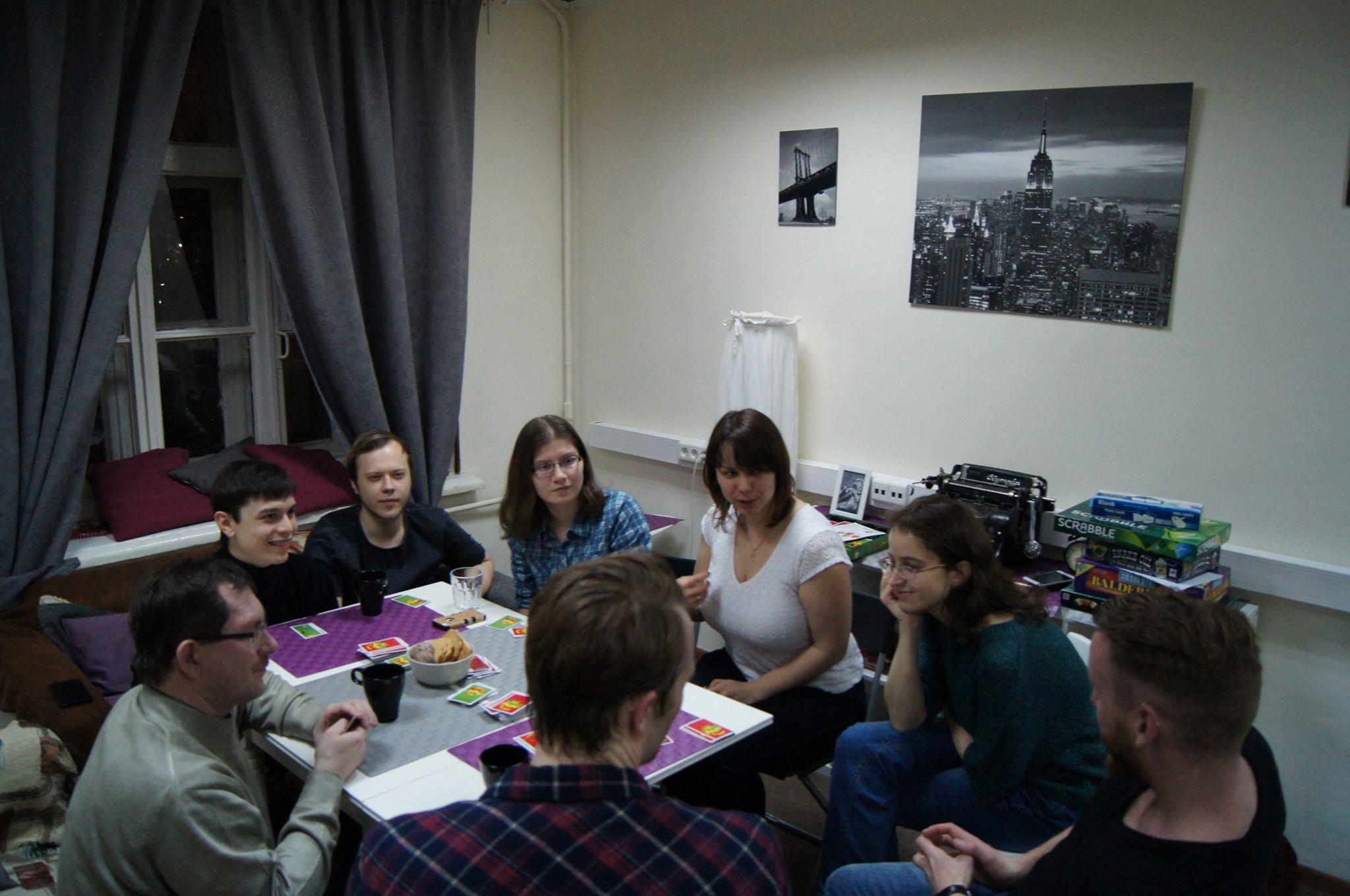 Разговорный клуб / онлайн-школа английского языка lingvaboom