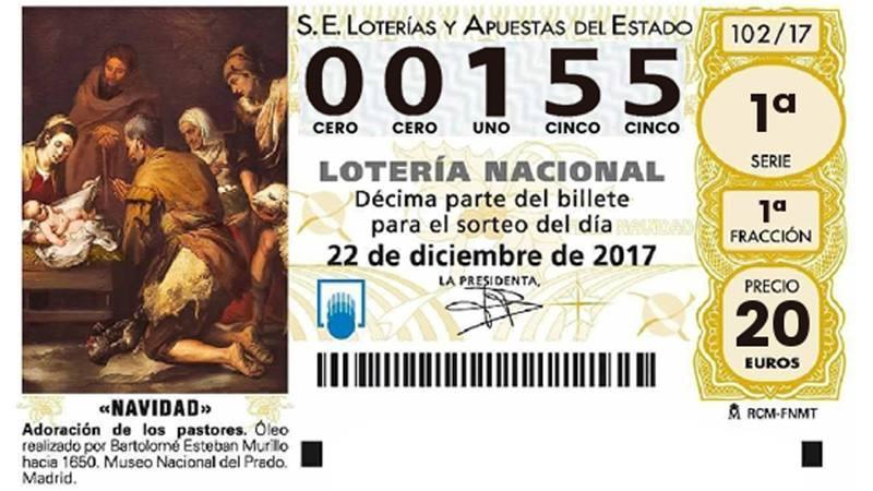 03347, el gordo de la lotería de navidad 2018, loterнa navidad 2020