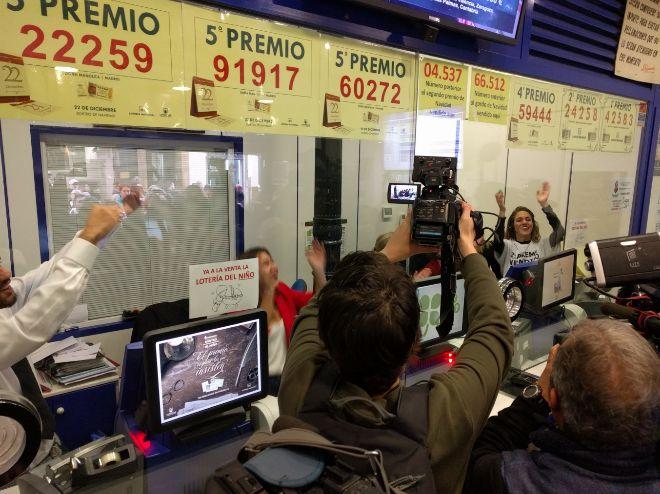Главная рождественская лотерея испании loteria de navidad