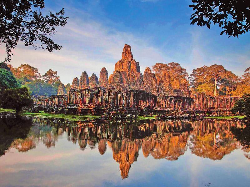 Камбоджа - сиемреап - ангкор - сиануквиль - пномпень