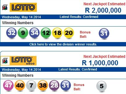 South africa lotto   check results, jackpot, stats & odds