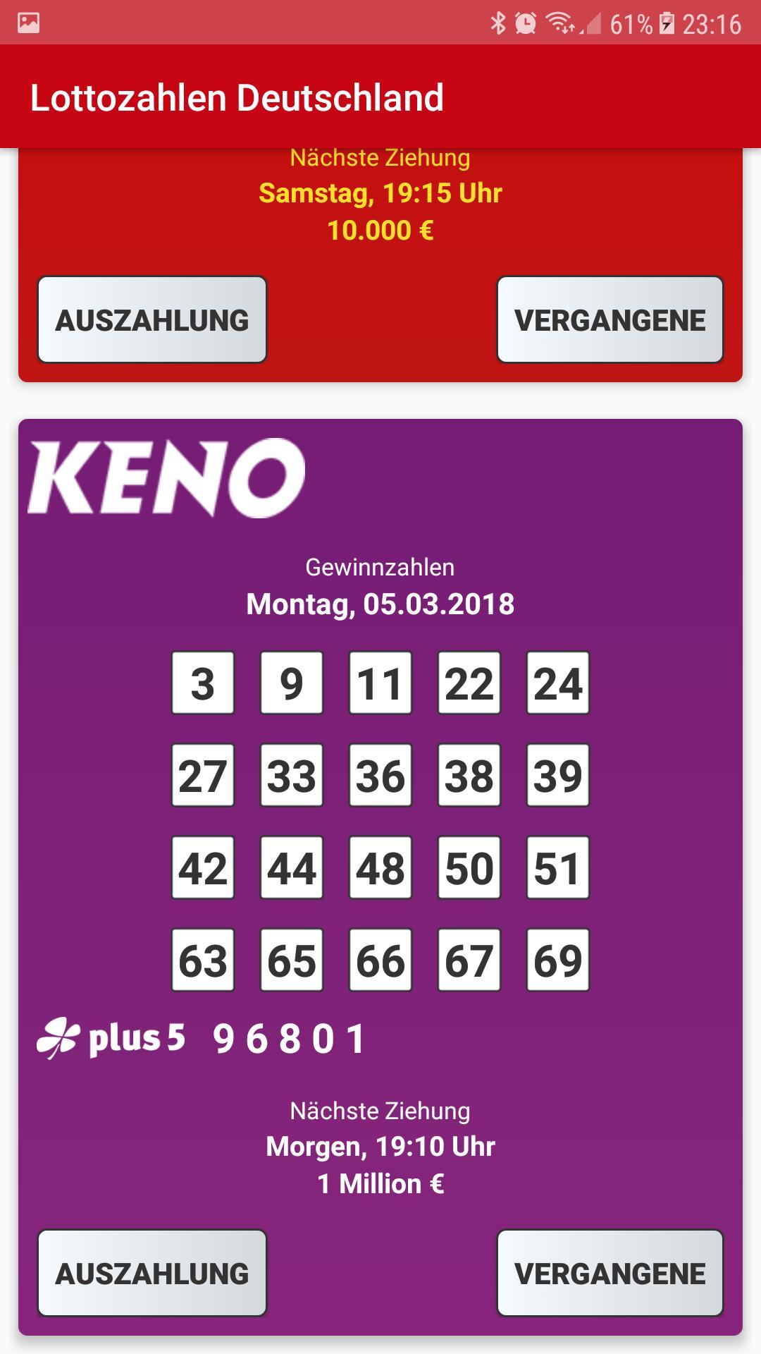 Eurojackpot: zahlen und quoten vom 15.09.2017