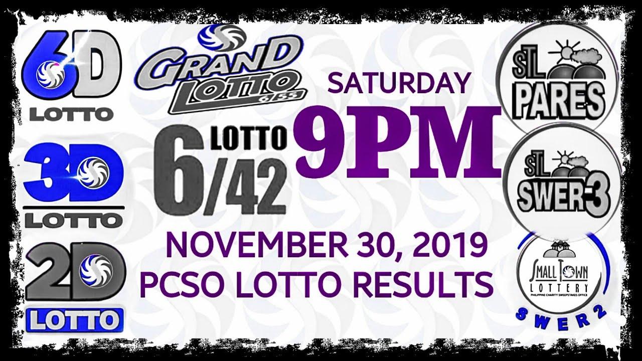 Saturday lotto results