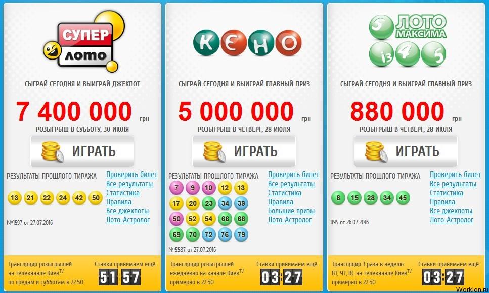 Национальная лотерея украины: супер лото и супер выигрыши