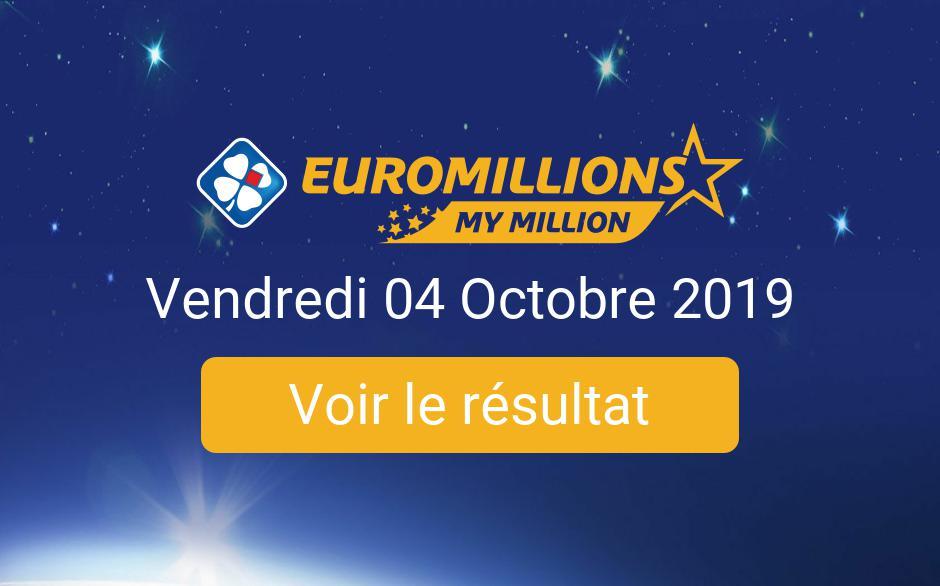 Résultats euromillions | derniers tirages & précédents