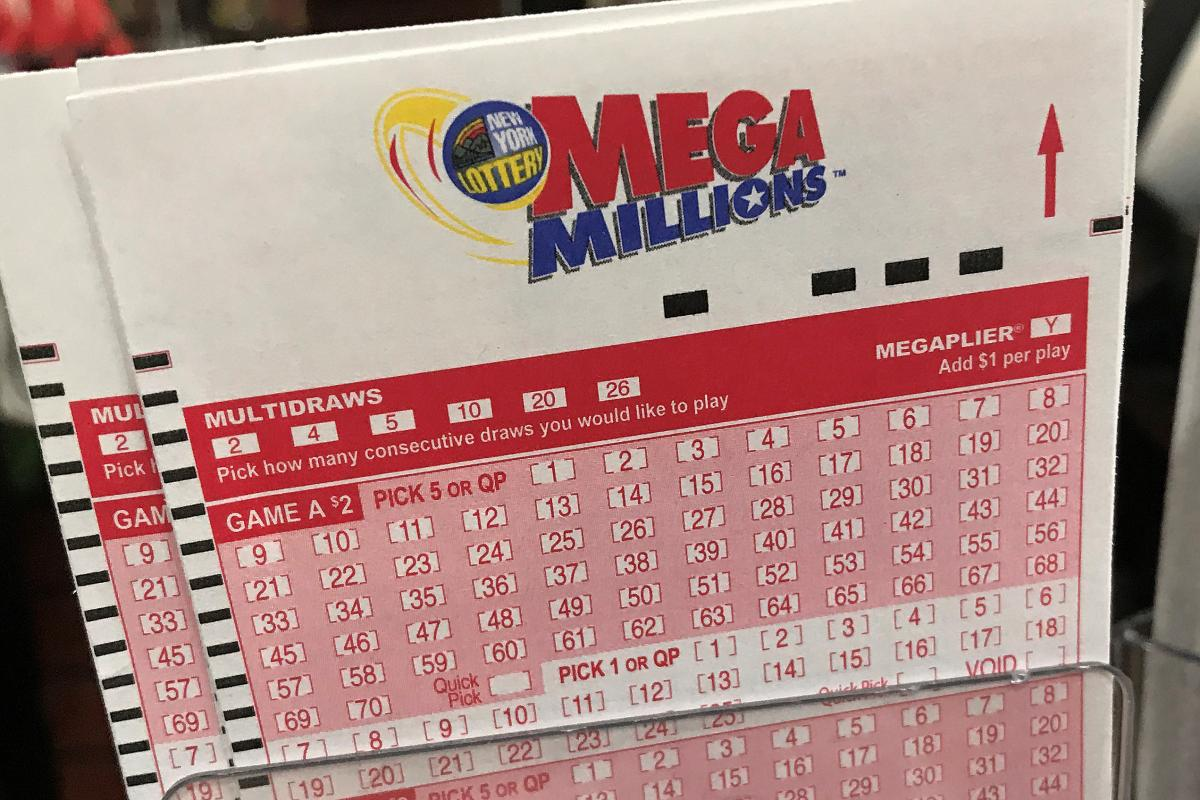 The latest mega millions results