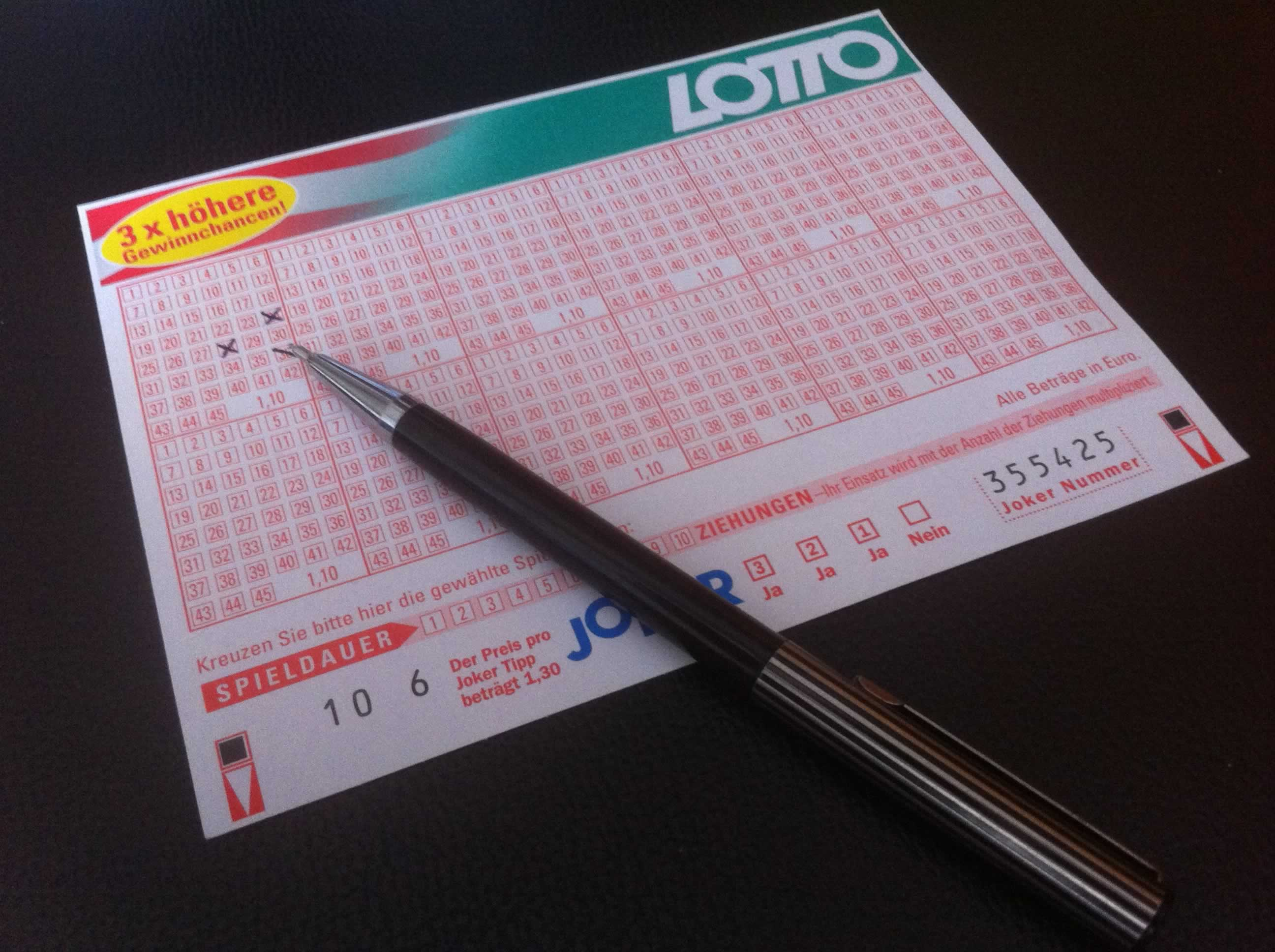 Польская лотерея lotto (6 из 49)