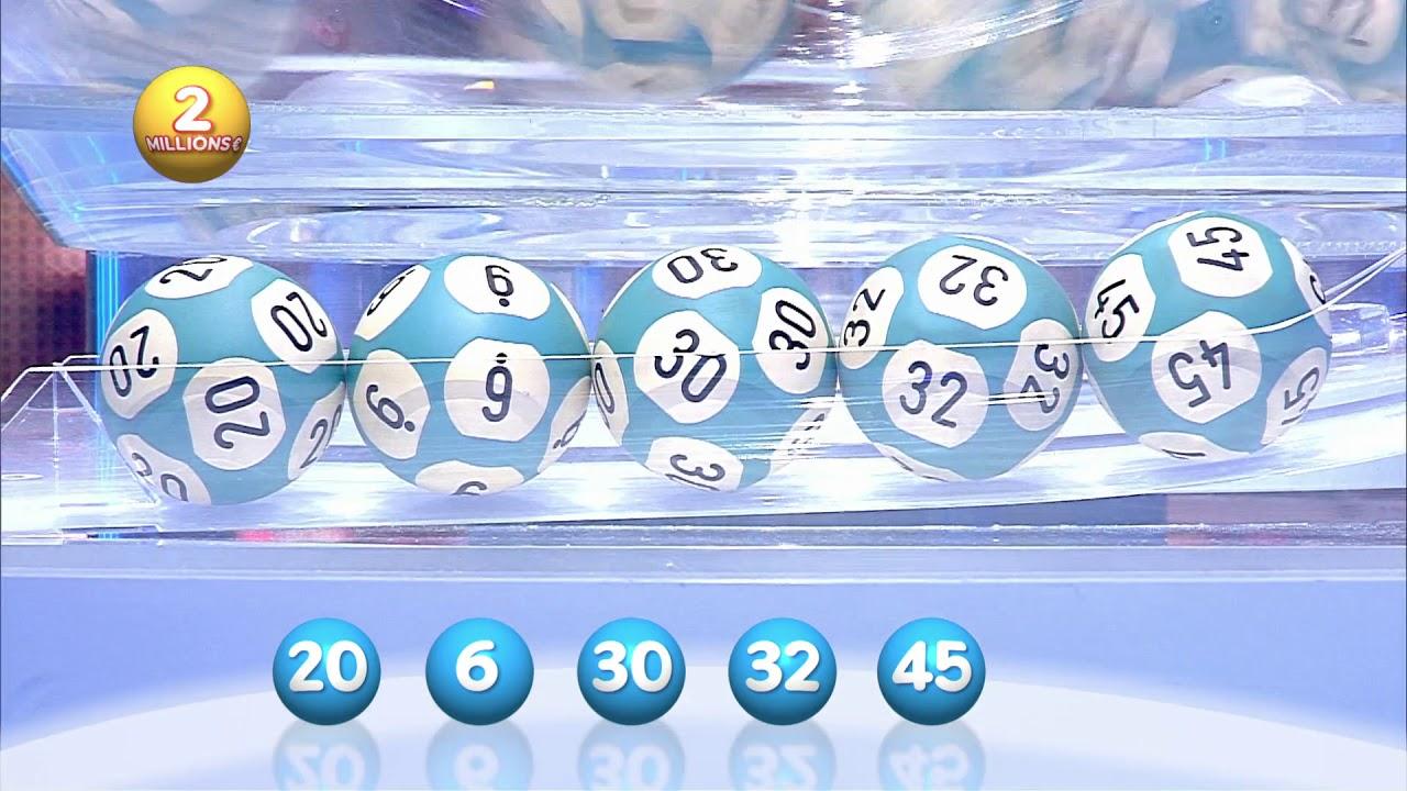 Euromillions - résultats des tirages