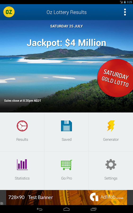 Win a prize in the national lottery from australia oz lotto