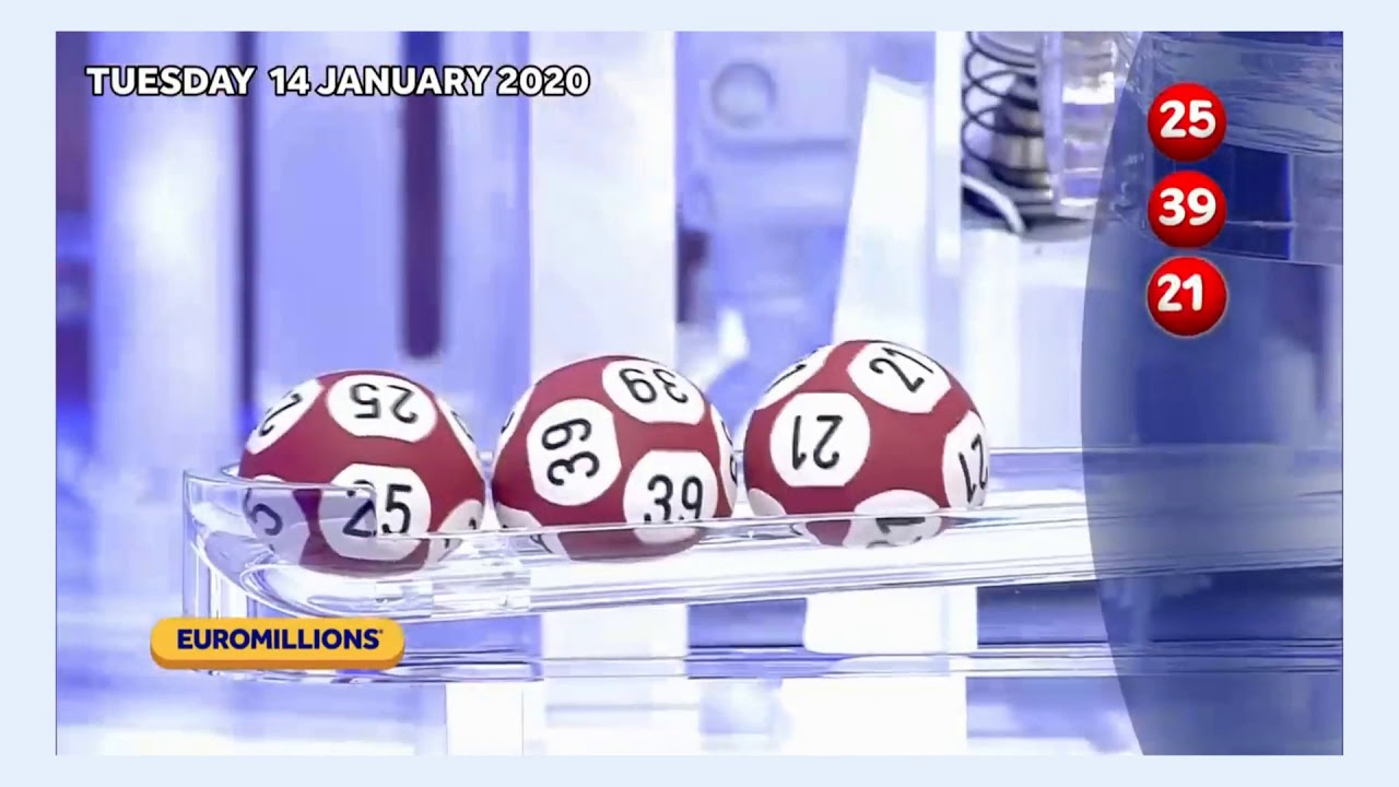 Euromillions results for friday 31st may 2019 - draw 1220