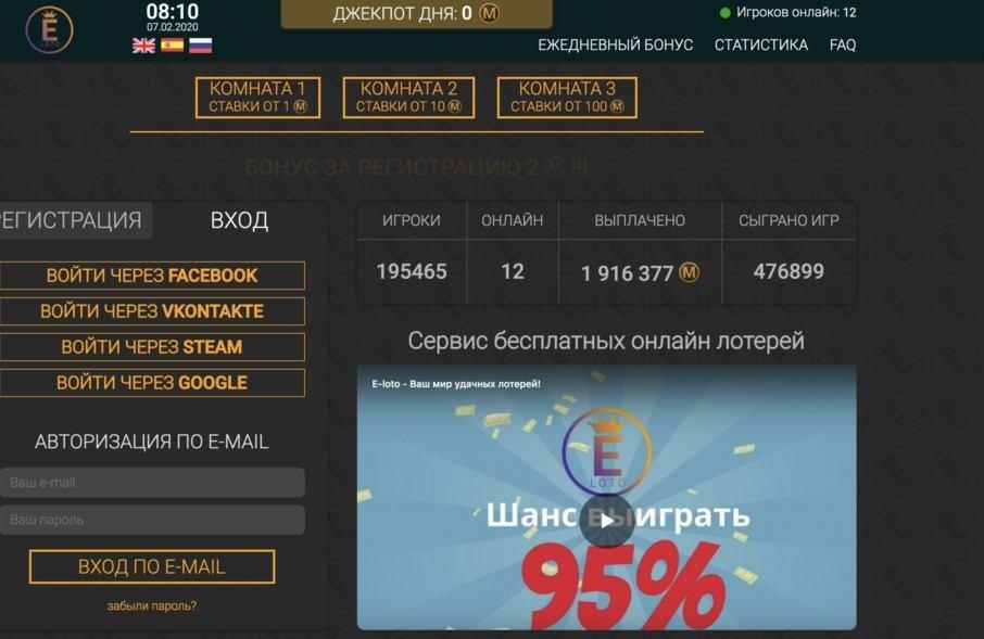 Иностранные лотерейные игры для россиян