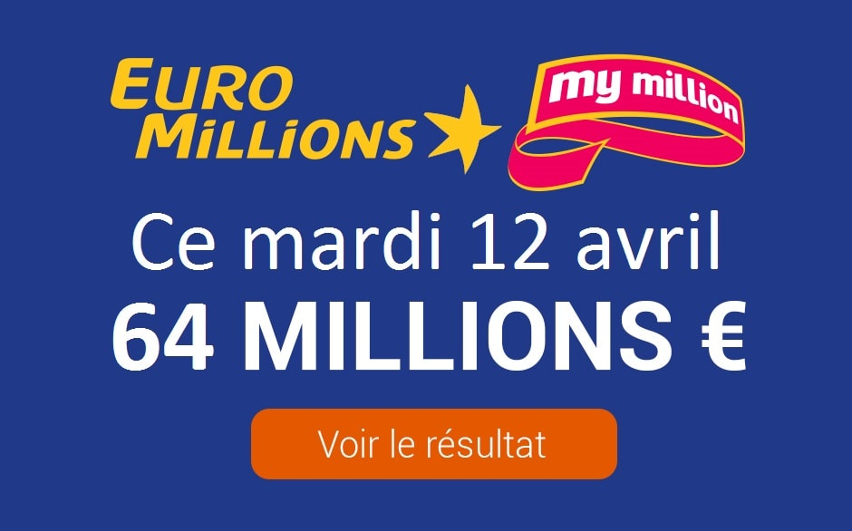 Résultat euromillions : tirage du 7 février 2020