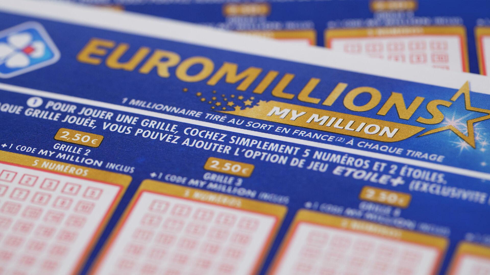 Tax on euromillions winnings