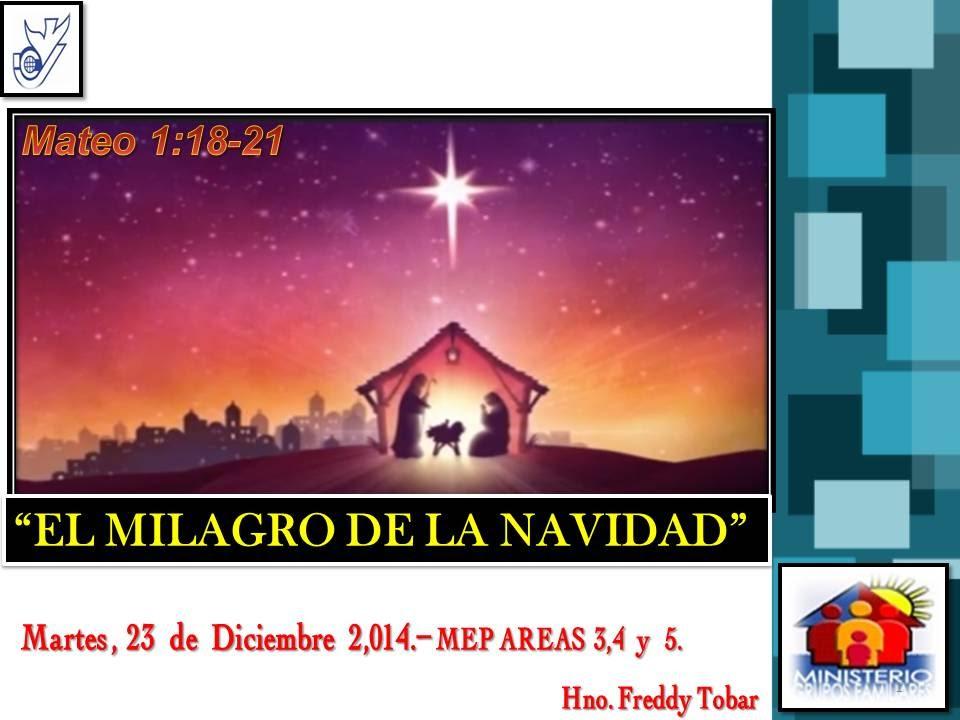 Milagros de navidad - wikipediam.org