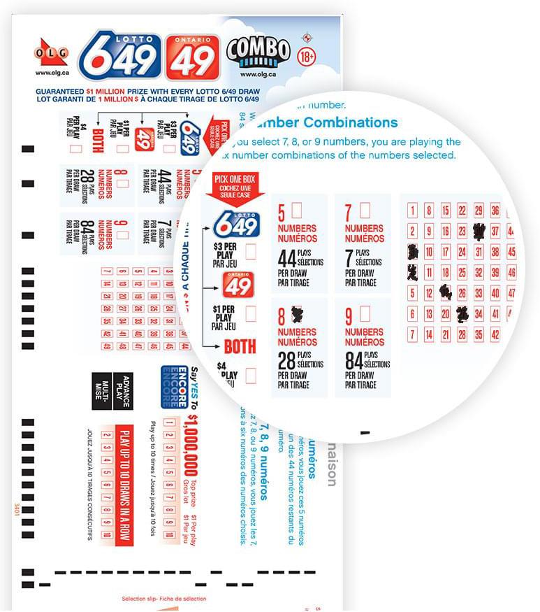 Ontário 49 Canadá | grandes lotos