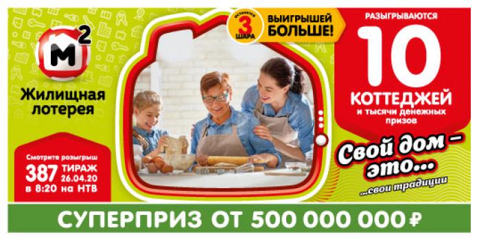 Результаты 1355 тиража русское лото - проверить билеты