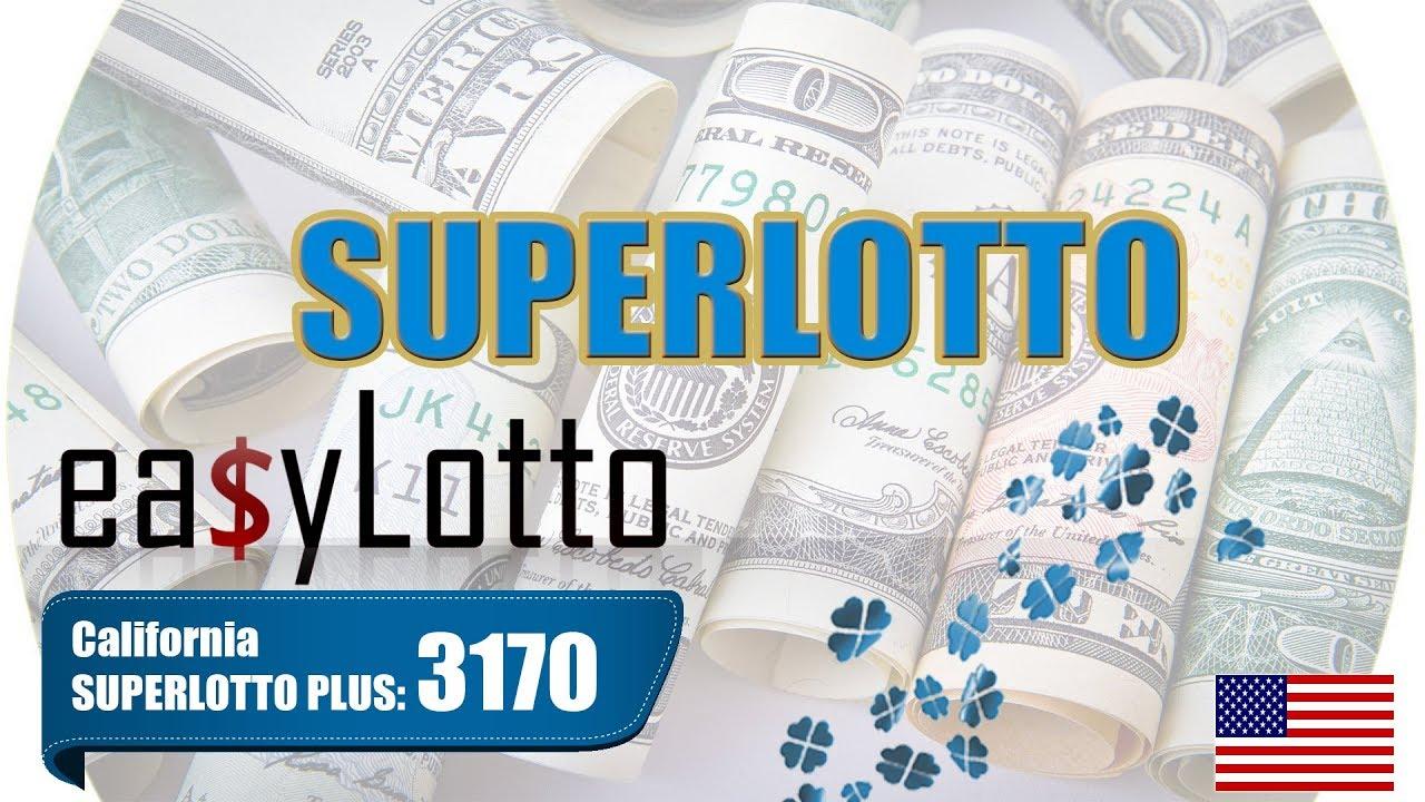 Superlotto plus da loteria do estado da Califórnia - como jogar da Rússia
