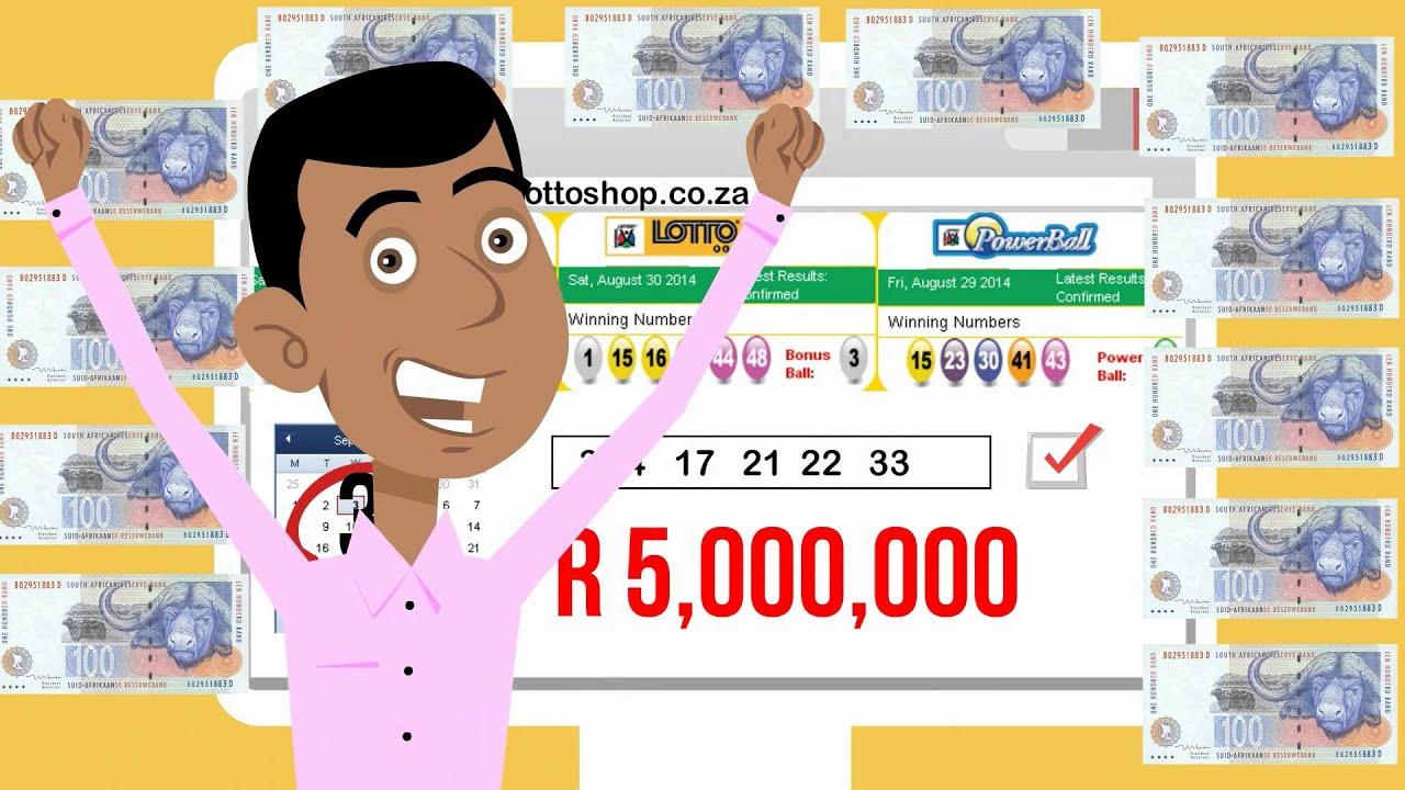 South africa powerball   big lottos
