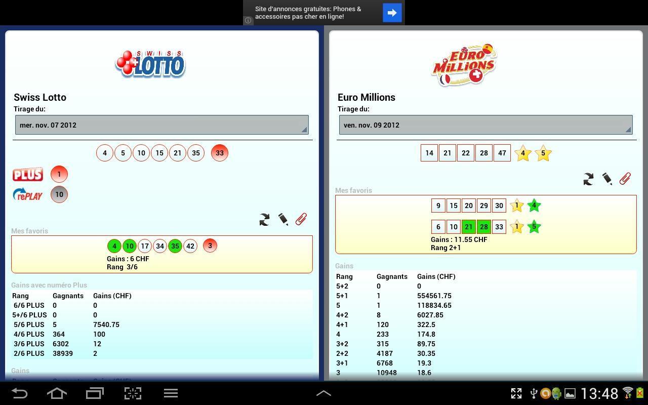 Jogue na loteria suíça online: comparação de preços em lotto.eu