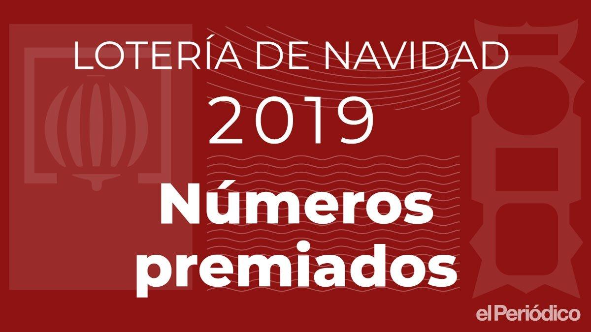 26590, el 'gordo' de la lotería de navidad 2019