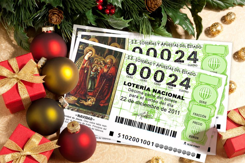 Рождественская лотерея lotería de navidad 2012