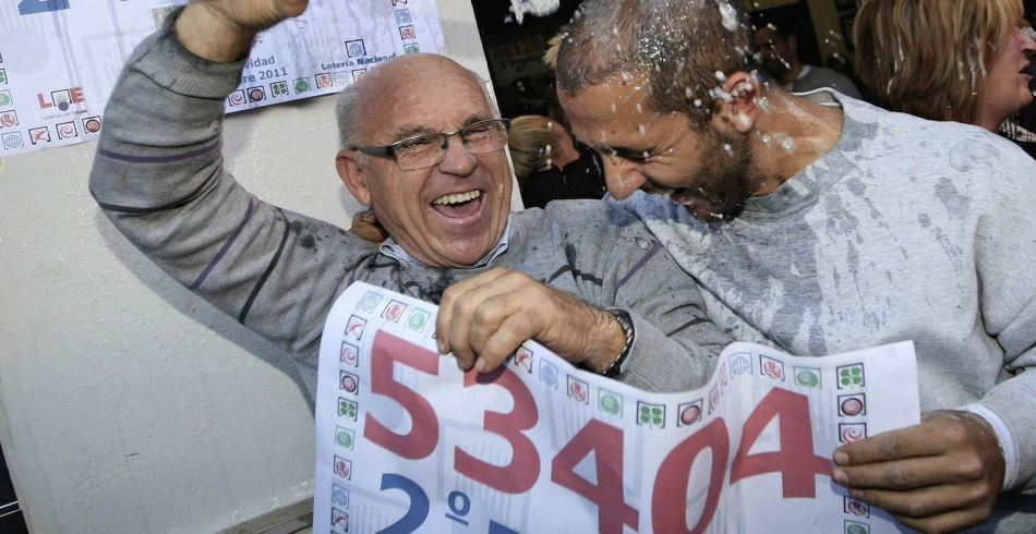 Новогодняя лотерея в испании. el gordo.