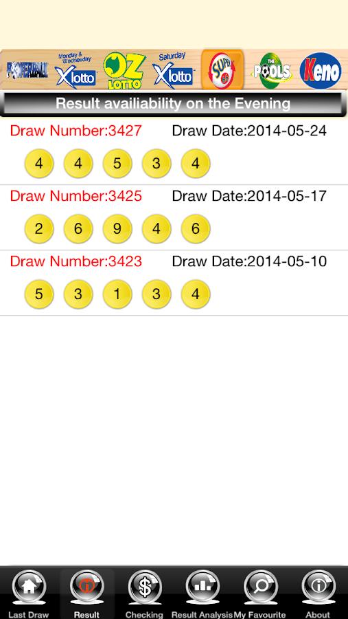 Oz lotto results | oz lotto | lottomania
