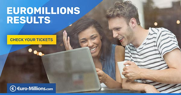 Euromillions results for 15th november 2019