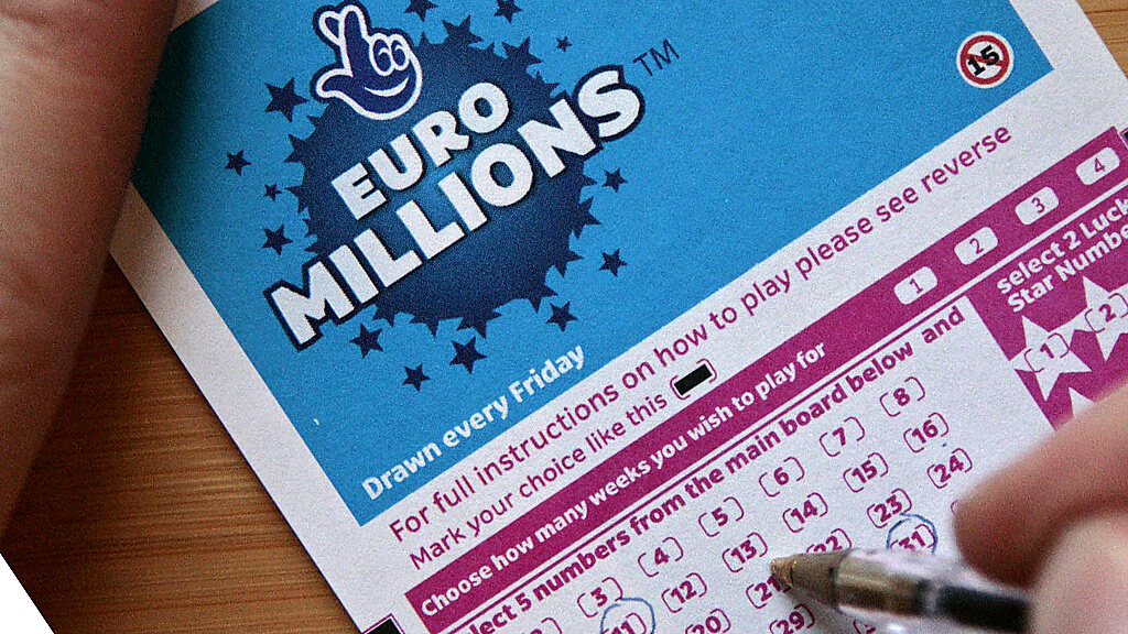 Euromillions results for 20th february 2018