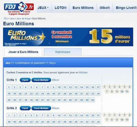 Играй в euromillions онлайн   lottomania
