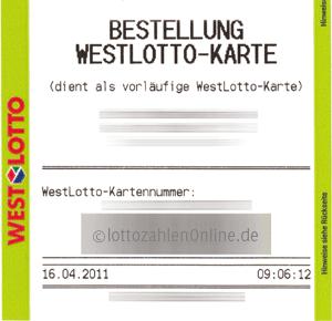Westlotto-glücksticket | unkategorisiert | lottomania