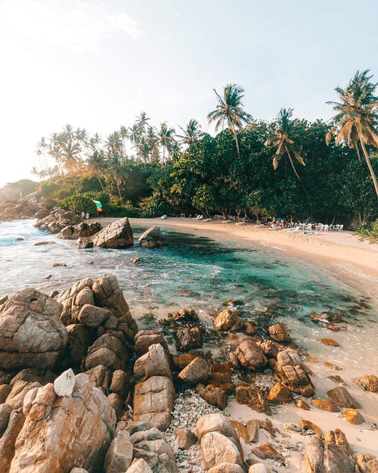 Praia de Veligama, Sri Lanka. críticas turísticas, hotéis próximos, foto, vídeo, como obter - tourist.ru
