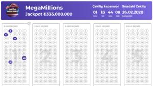 Архив лото мегамиллионы за 2015 год