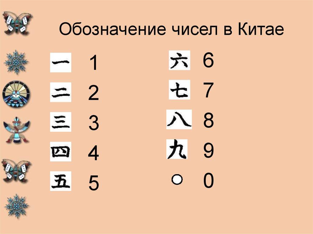 Счастливые числа и цвета в китае
