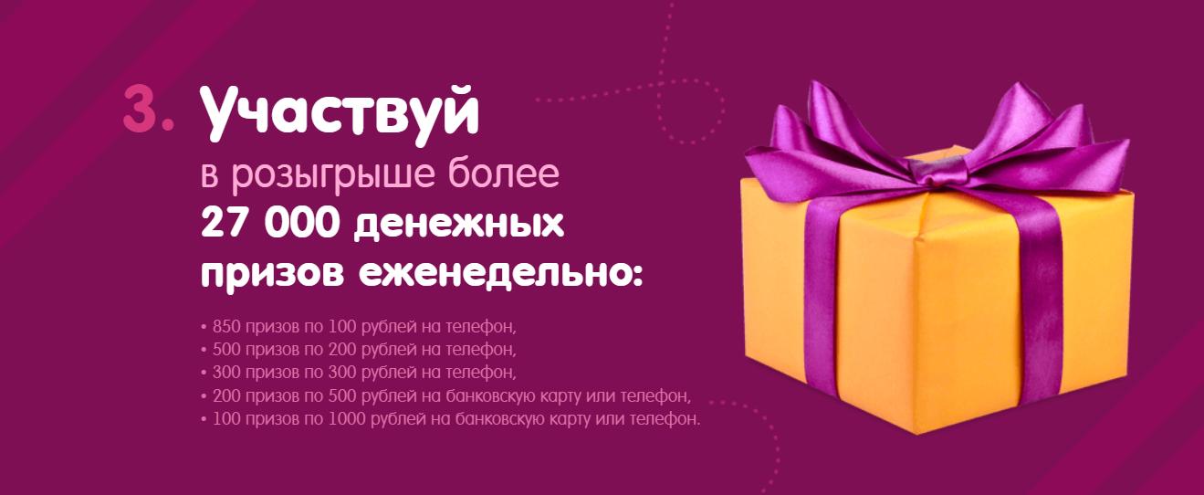 Участие в розыгрыше призов и получение вознаграждения – реальные отзывы
