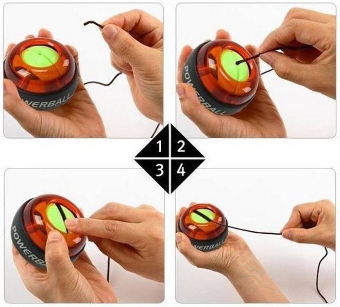 Гироскопический эспандер для кисти (пауэрбол): что это, и как крутить