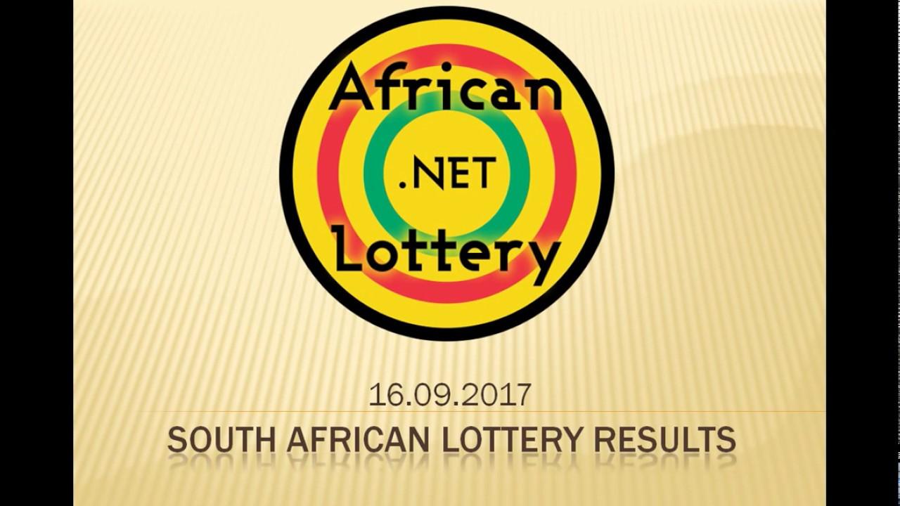 Resultados da loteria, prêmios & regras - África do Sul